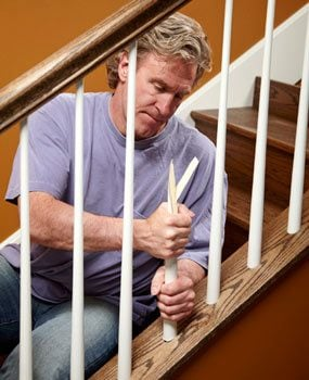 Captivating How To Install Stair Spindles