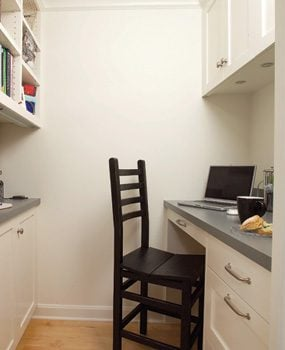 Build a kitchen office into your remodel
