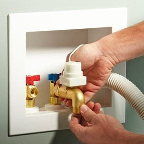 Photo 1: Install the valves
