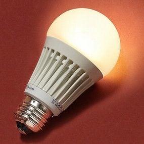 EcoSmart LED A19, a 40-watt equivalent