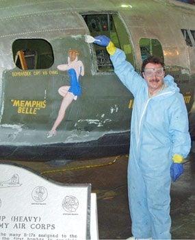 Aircraft restoration specialist