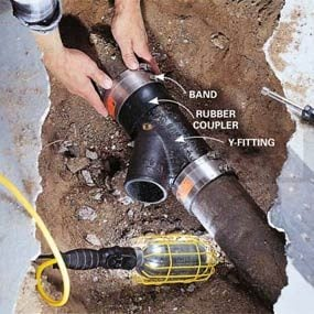 basement bathroom plumbing. How to Plumb a Basement Bathroom  Family Handyman