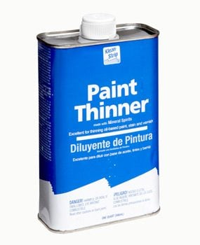 Wash Brushes With Paint Thinner