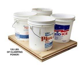 Water bucket weights