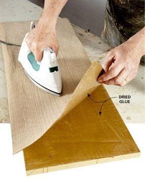 Anchoring veneer