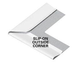Outside corner cover