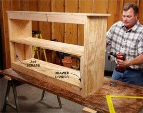 Photo 2: Add a shelf