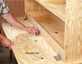 Photo 5: Install the folding top