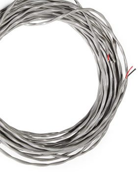 Twisted pair speaker wire