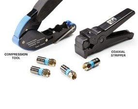 Coaxial connectors and special tools