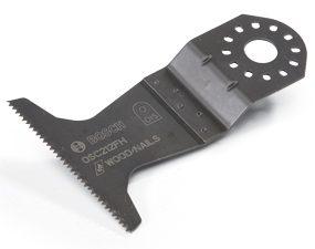 Extra wide blade