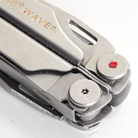 Knife location in multi-tool is marked with paint