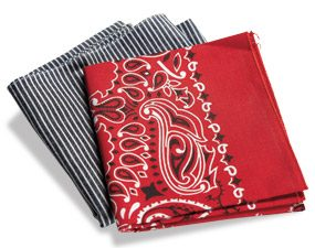 Two handy bandanas