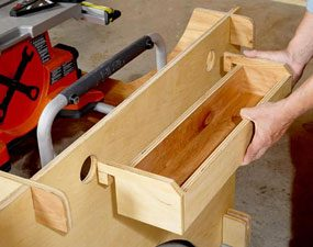DIY tool trays that are portable