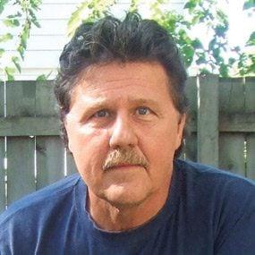 Photo of David Radtke, DIY TV stand designer and author