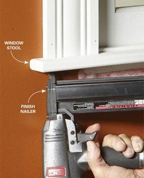 Photo 2: Install the stool