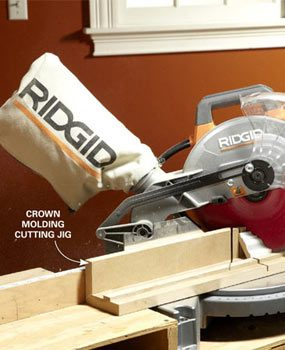Photo 6: Build a crown molding jig