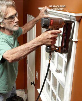 Photo 9: Finish the window trim