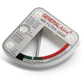 Air filter gauge