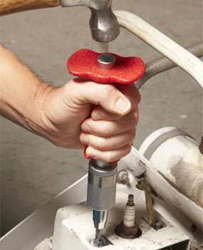 Photo 2: Hammer the impact driver