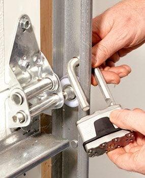how to fix my roller up garage door