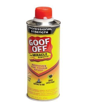 Spray-on paint removers