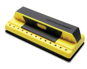 Eliminate guesswork with this reliable stud finder.