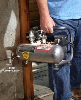 Small compressor