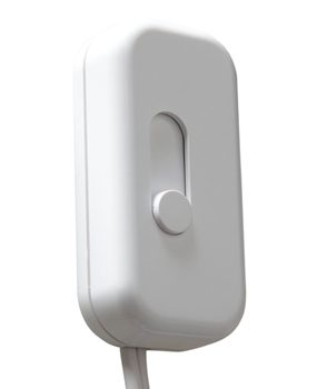 Dimmer for plug-in lamps