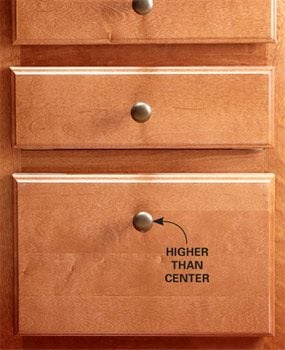 Make bottom drawers easier to reach