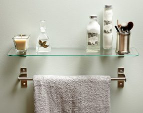 Just make sure it doesn't interfere with the towel rack.