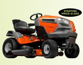 Lawn tractor pros and cons