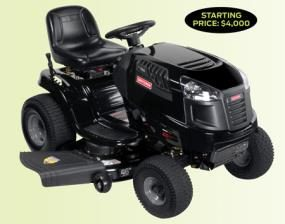 Garden tractor pros and cons