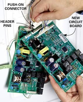 Swap out the circuit board