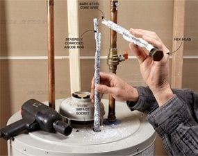 Extend The Life Of Your Water Heater By Replacing Anode Rod