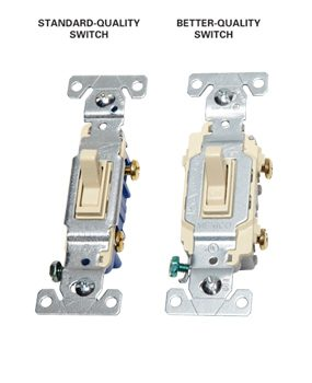Higher quality switches have better components.