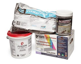 Premium grouts give better results