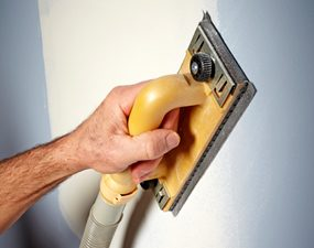 Drywall sanding attachment from Hyde Tools (No. 09165)