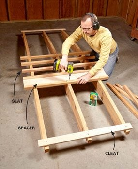 How to Build a Garden Arbor