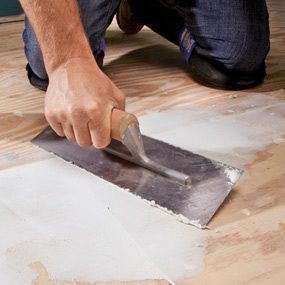 How To Install Luxury Vinyl Flooring The Family Handyman