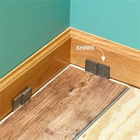 How To Install Luxury Vinyl Plank Flooring The Family Handyman - Install vinyl flooring over plywood subfloor