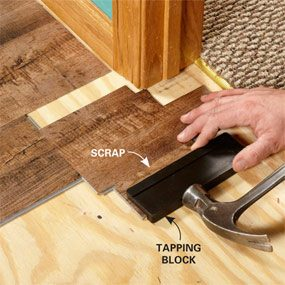 How To Install Luxury Vinyl Plank Flooring The Family Handyman