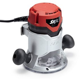 Skil 1817 fixed base wood router.
