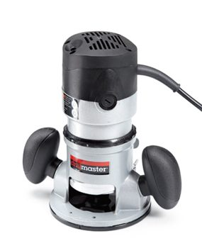 Drill Master 68341 fixed-base wood router.