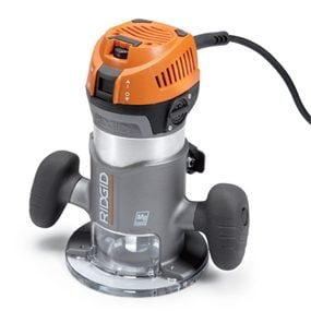 Ridgid R2200 fixed-base wood router.