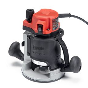 Milwaukee 5615-20 fixed-base wood router.