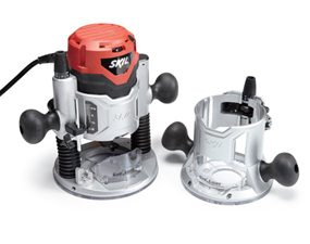 Skil 1830 combo-base wood router.