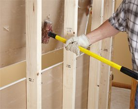 Remove drywall the easy way, part 2