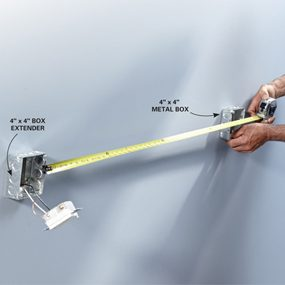 Photo 5: Measure for conduit