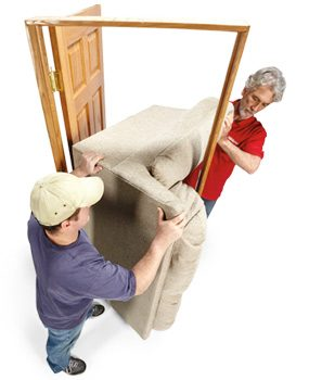 Couch moving tip
